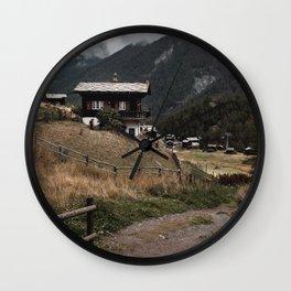 Swiss Village Wall Clock