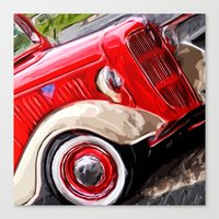 ford Canvas Prints featuring Ford by Artsy B