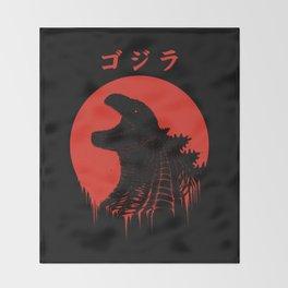 Kaiju Regeneration Throw Blanket