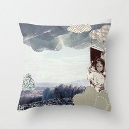 iceberg child Throw Pillow