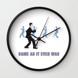 Talking Heads ~ Once In A Lifetime Walk Wall Clock