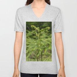 Fern of the Woods  Unisex V-Neck