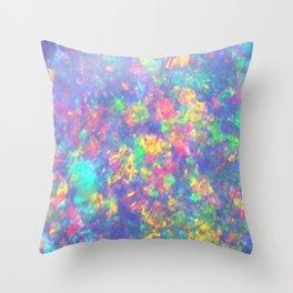Purple Opal Throw Pillow
