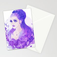 Lavender Princess Stationery Cards
