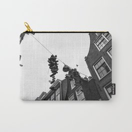 Hanging shoes in Amsterdam Carry-All Pouch