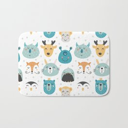 Nursery bundle cute animals Bath Mat