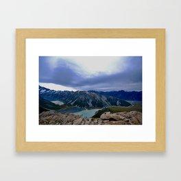 The Hooker Valley Framed Art Print