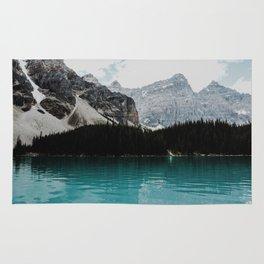 Lake Moraine, Banff National Park Rug