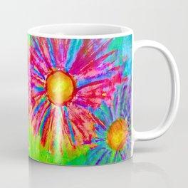 Bright Sketch Flowers Coffee Mug