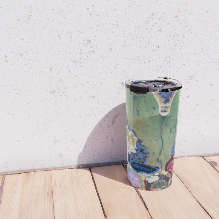 Brainstorm In Negative Travel Mug