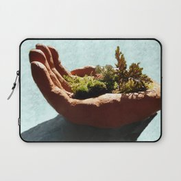 Bush in the Hand Laptop Sleeve