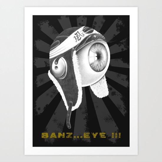 banz_eye !!! Art Print