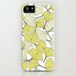ginkgo leaves (special edition) iPhone Case