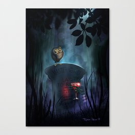 MG's Gravesite by Topher Adam 2017 Canvas Print