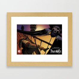 Pirate Eye: The Hunter Becomes The Hunted Framed Art Print