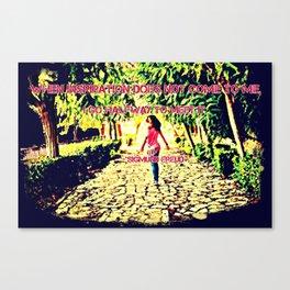 Inspiration path Canvas Print