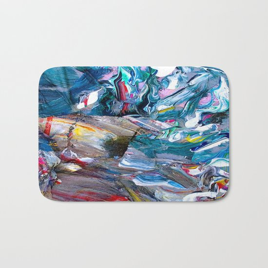 Marble Beach Side Bath Mat