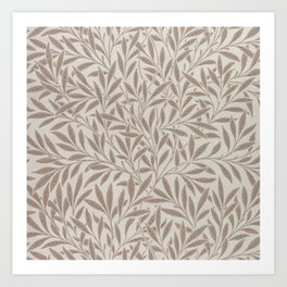 "William Morris ""Willow"" 2. Art Print"