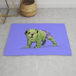 The Incredible Bulldog Rug