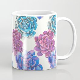 Vibrant Succulents  Coffee Mug