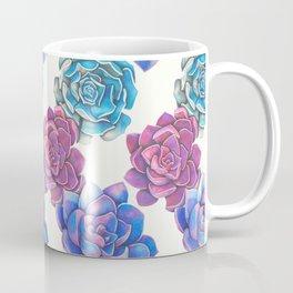 Vibrant Succulents  Coffee Mug
