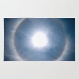 Rainbow Around the Sun Rug