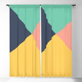 Pastel Colors Blackout Curtain