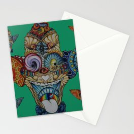 krusty the tripper Stationery Cards