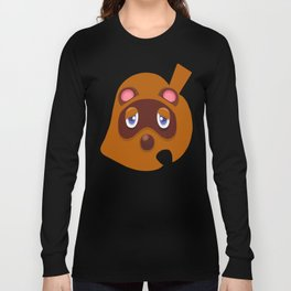 Animal Crossing Tom Nook Long Sleeve T-shirt