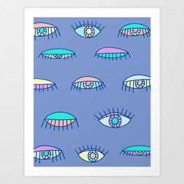Bedroom Eyes Art Print