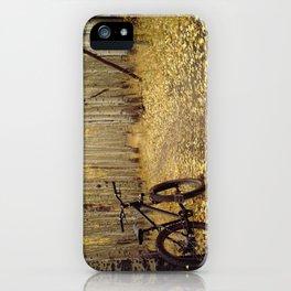 Golden Aspen Mountain Biking iPhone Case