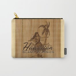 Tradewinds Hawaiian Island Hula Girl Carry-All Pouch