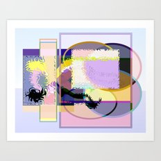 Eggs and Cream Art Print