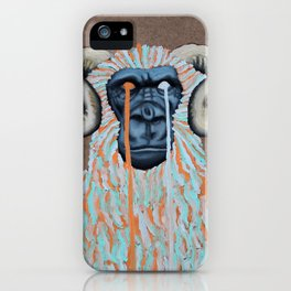 Gorilla Sweater iPhone Case