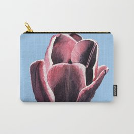 Red violet single tulip Carry-All Pouch