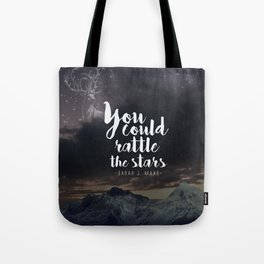 You could rattle the stars (stag included) Tote Bag