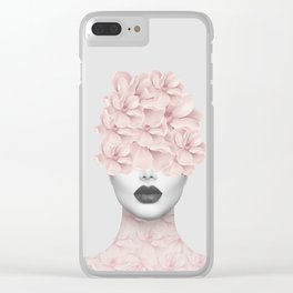 She 01 Clear iPhone Case