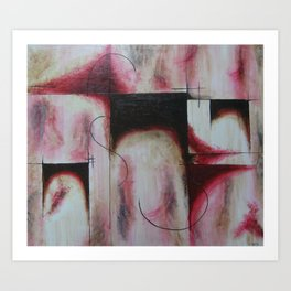 Abstructed Art Print