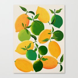 Lemons and Limes Canvas Print