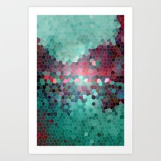 mosaic series Art Print