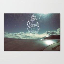 Sail the Skies Canvas Print
