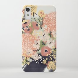 Early Autumn Florals iPhone Case