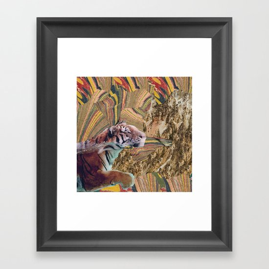 Psytiger Framed Art Print