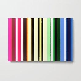 Vivid Lines Metal Print