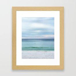 Pure Peace Framed Art Print