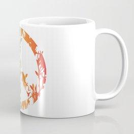 Animal nature peace sign  Coffee Mug