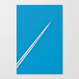 Swedish Contrail Canvas Print