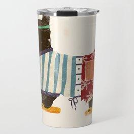 Scottie Beach Art Travel Mug