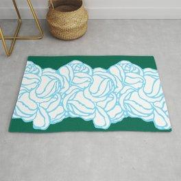 "Koloman (Kolo) Moser ""Textile pattern (Roses)"" (2) Rug"