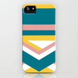 Retro color pop iPhone Case